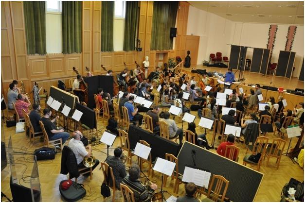 Сессионные записи в Будапеште. Июнь 2010.