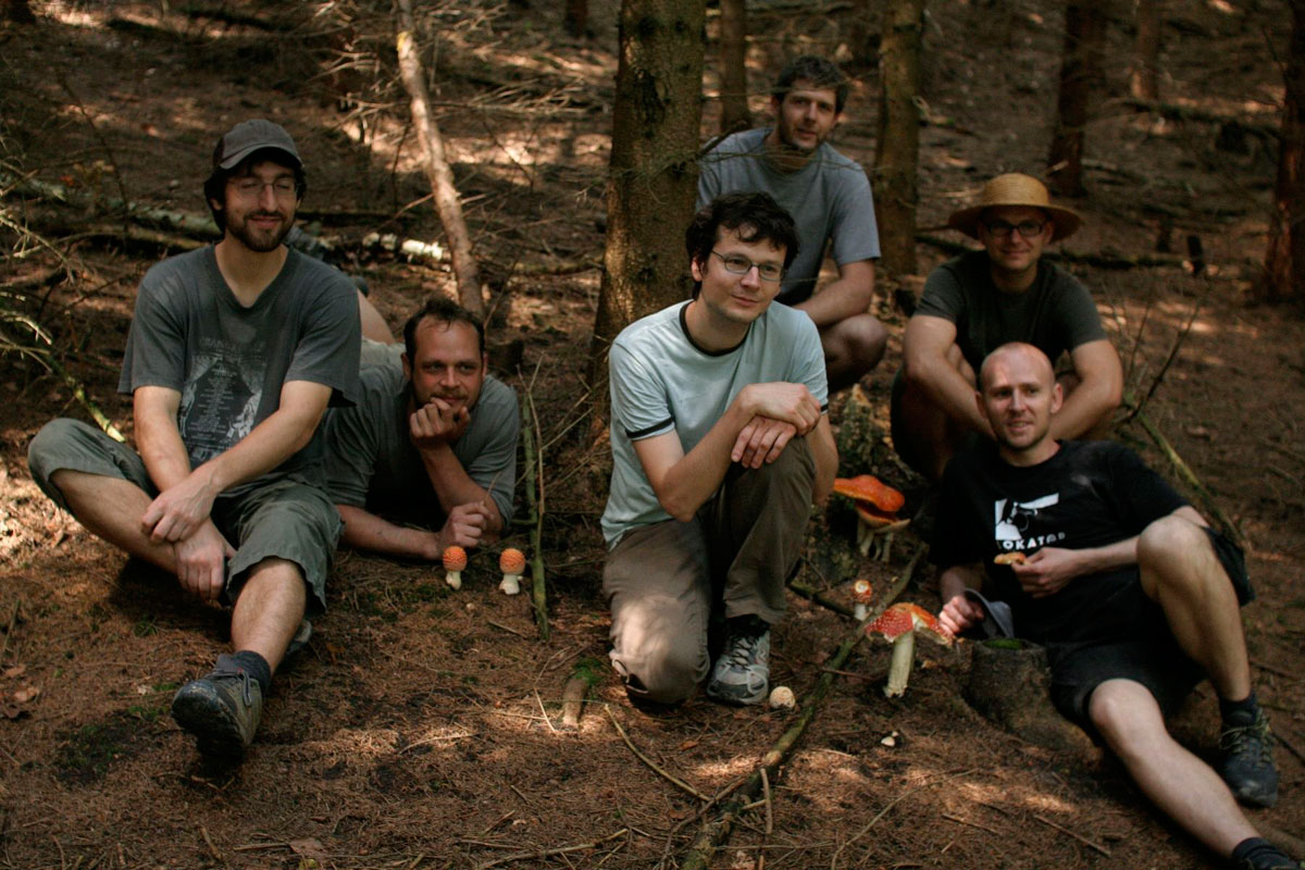 Amanita Design. Tomáš in center