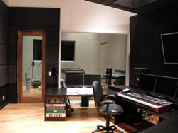 Mark Morgan studio