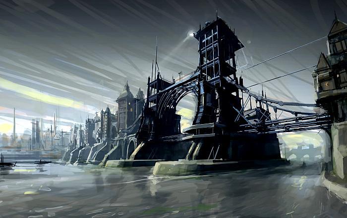 Dishonored, концепт-арт Виктора Антонова