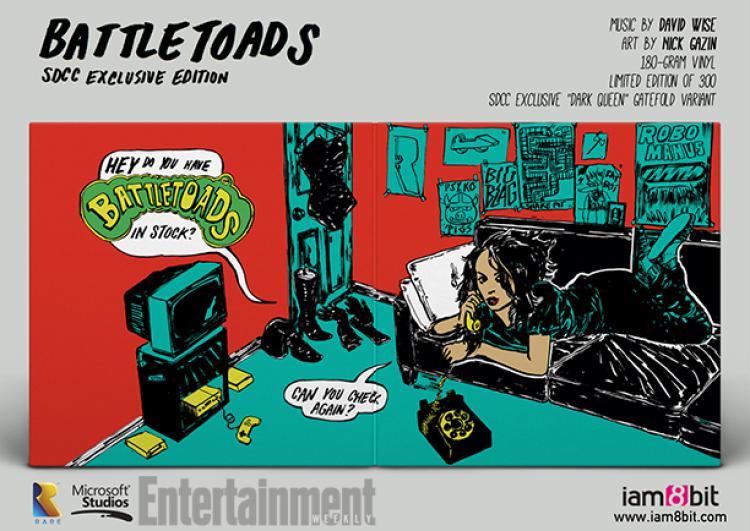 Саундтрек Battletoads на виниле