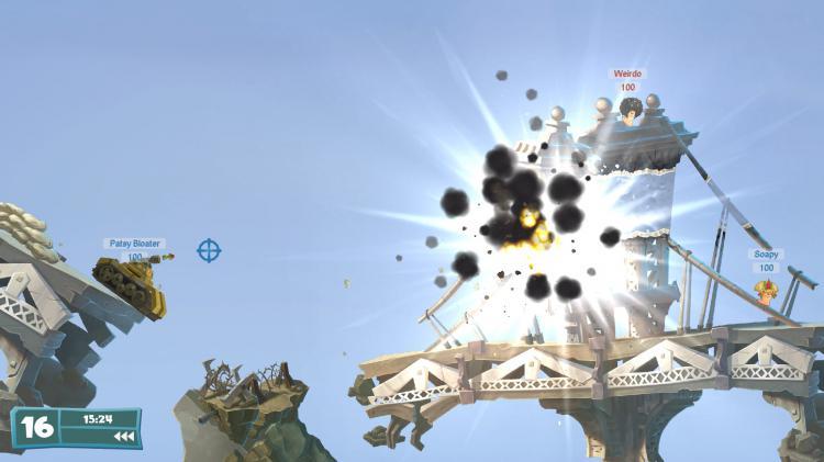 Скриншот Worms WMD
