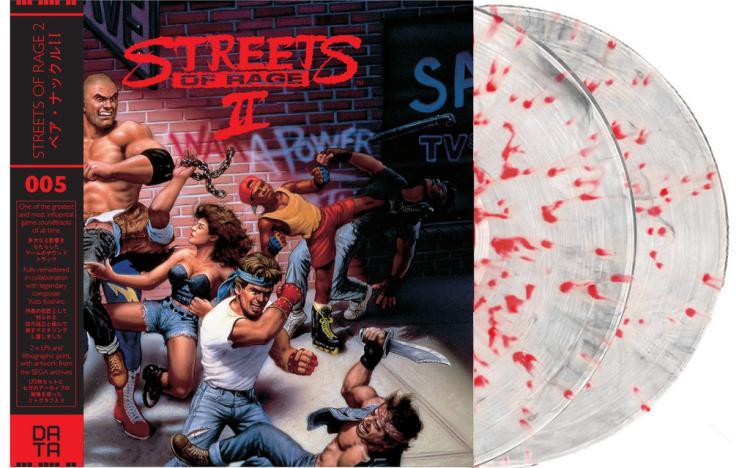 Винил Streets of Rage 2