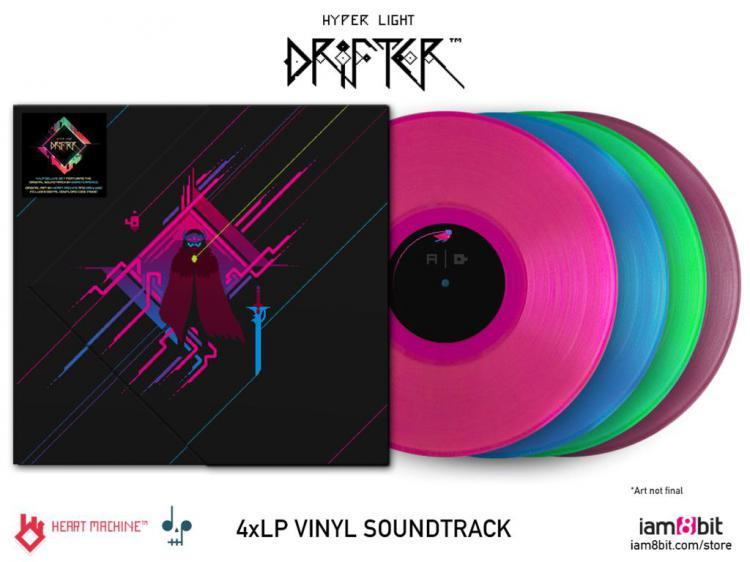 Виниловый саундтрек Hyper Light Drifter