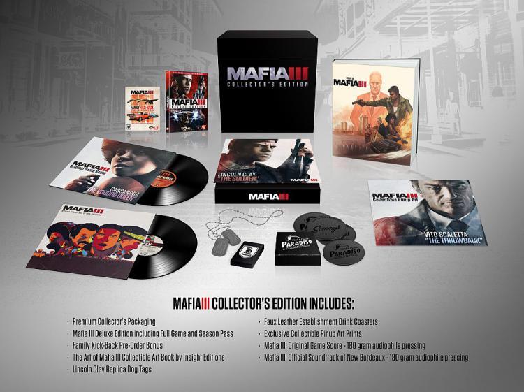 Коллекционное издание Mafia 3