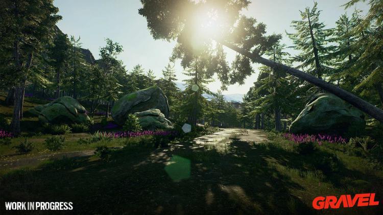 Скриншот Gravel