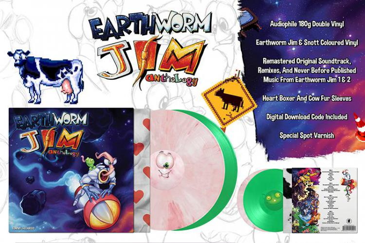 Винил Earthworm Jim Anthology