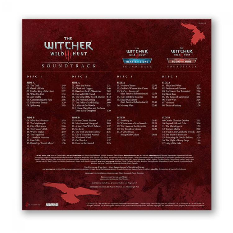 Винил The Witcher 3: Wild Hunt