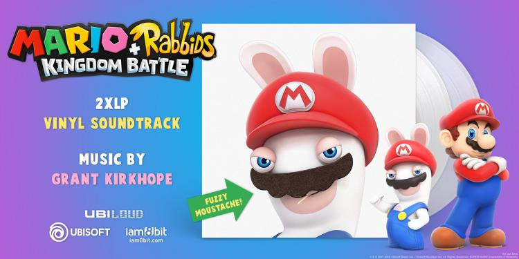 Винил Mario + Rabbids Kingdom Battle