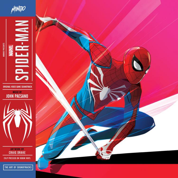 Винил Marvel's Spider-Man