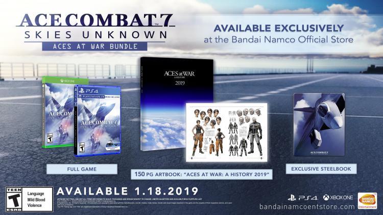 Издание Ace Combat 7: Aces At War
