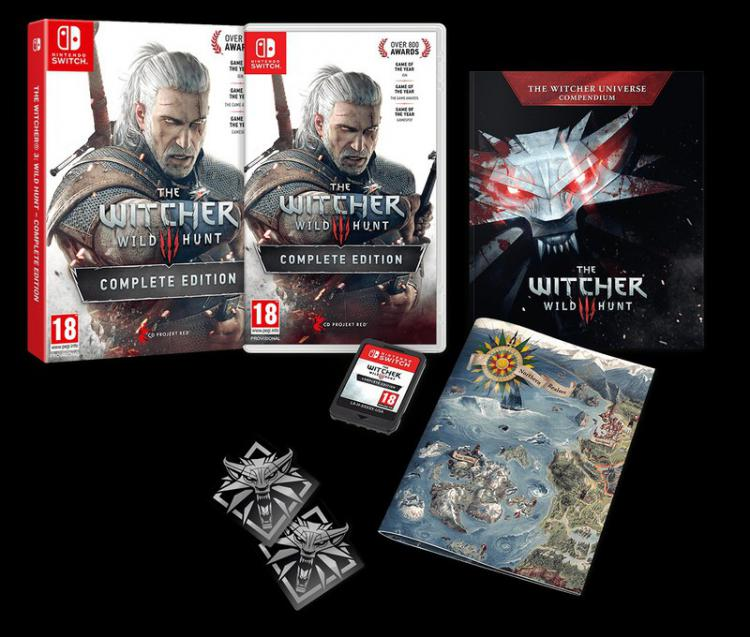 The Witcher 3 для Nintendo Switch