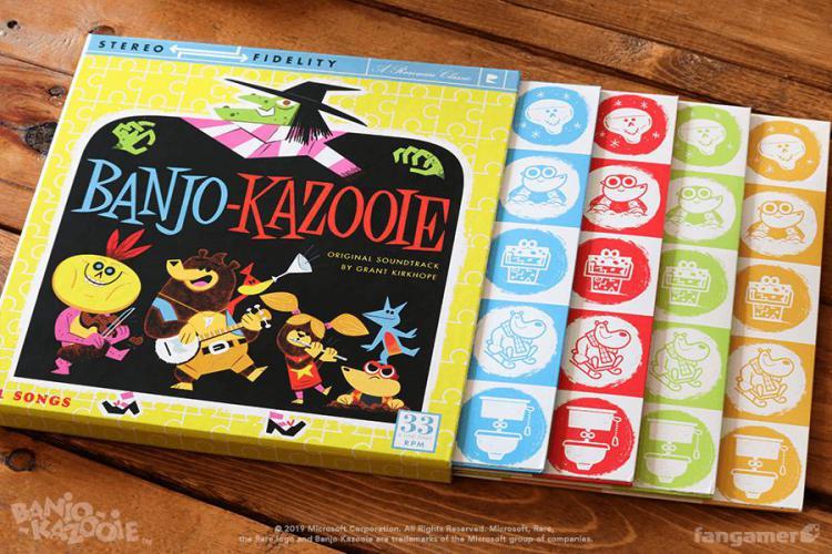 Винил Banjo-Kazooie