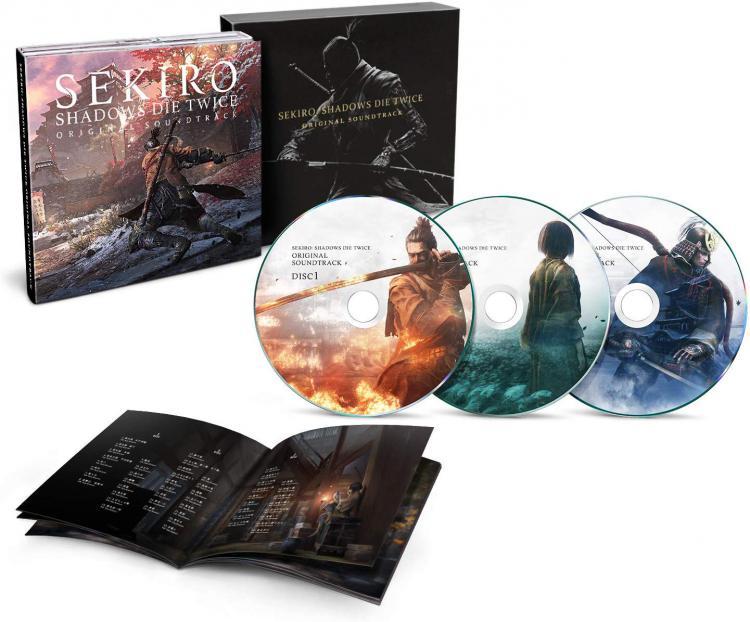 Саундтрек Sekiro: Shadows Die Twice на 3 CD