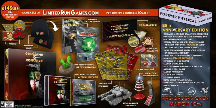 Коллекционное издание ремастера Command & Conquer