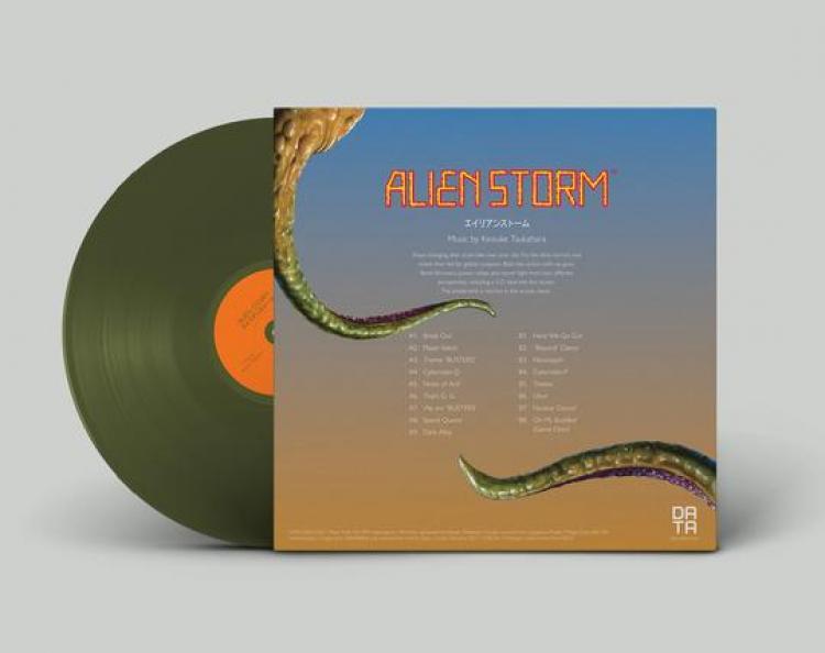 Саундтрек аркадного шутера Alien Storm выйдет на виниле
