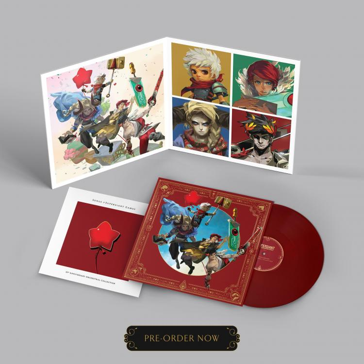 Анонсирован альбом к 10-летию Supergiant Games