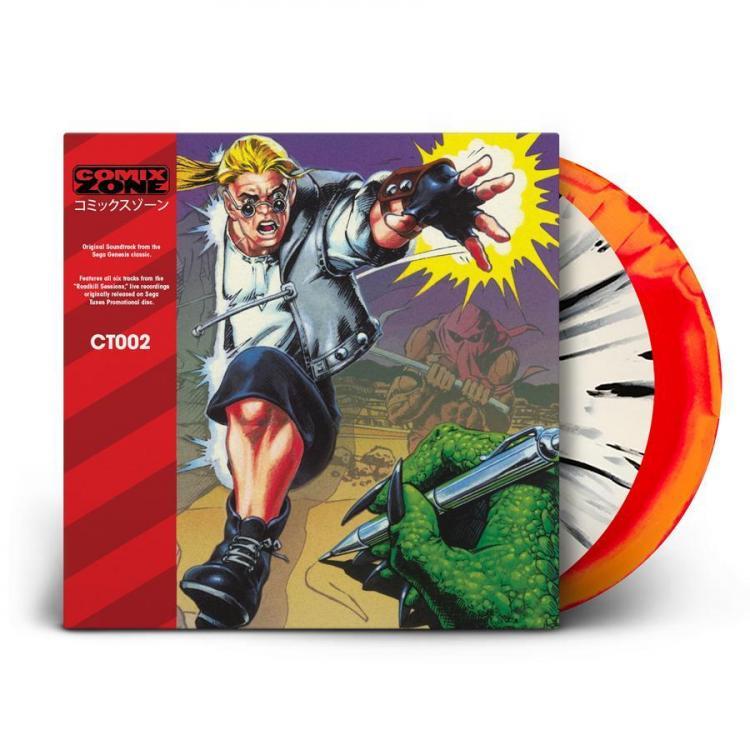 Саундтрек Comix Zone выйдет на виниле
