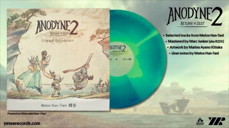 Саундтрек приключения Anodyne 2: Return to Dust выйдет на виниле