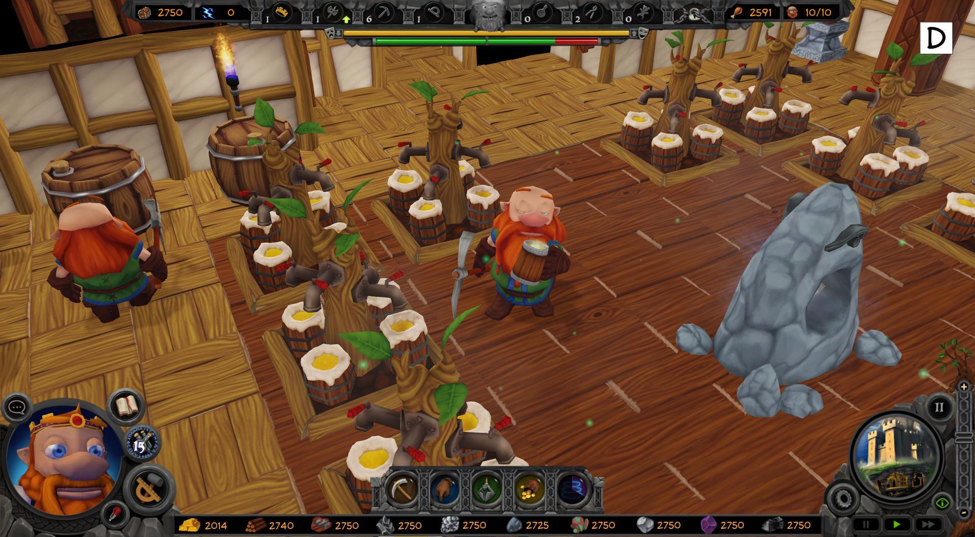 A Game of Dwarves - скриншоты, обои, картинки, концепт-арт, волпейперы