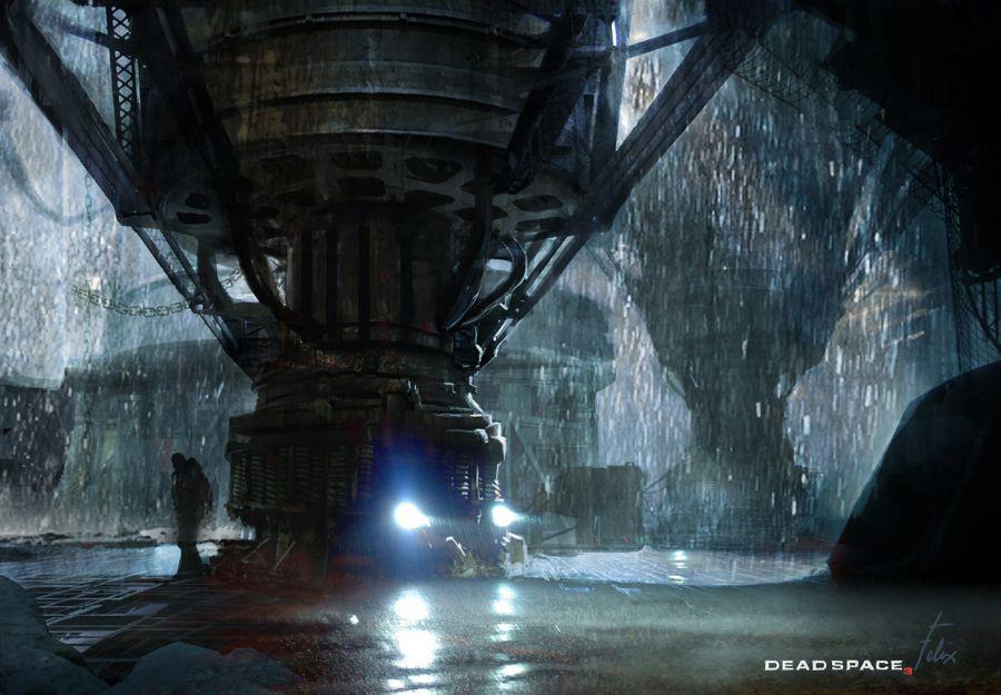 Dead Space 3 Concept Art