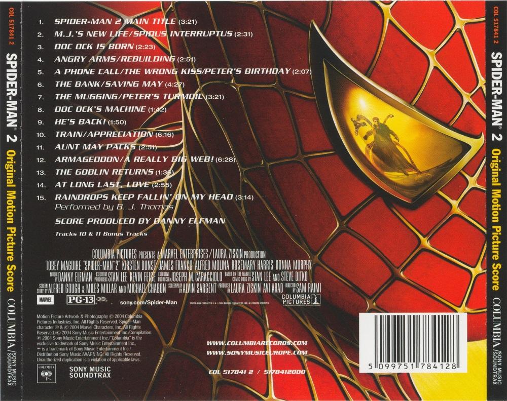 Человек-паук 2 музыка из фильма | spider-man 2 original motion