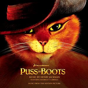 Puss in Boots Music from the Motion Picture. Лицевая сторона . Нажмите, чтобы увеличить.