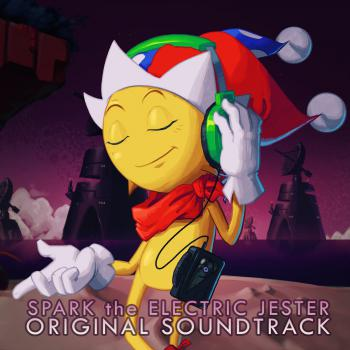 Spark the Electric Jester Original Soundtrack. Front. Нажмите, чтобы увеличить.