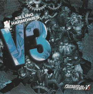 Danganronpa V3: Killing Harmony Original Soundtrack. Insert Front. Нажмите, чтобы увеличить.