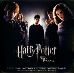 Harry Potter and the Order of the Phoenix Original Motion Picture Soundtrack. Лицевая сторона. Нажмите, чтобы увеличить.