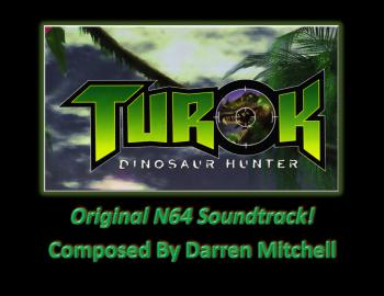 Turok: The Dinosaur Hunter (Original N64 Soundtrack). Front. Нажмите, чтобы увеличить.
