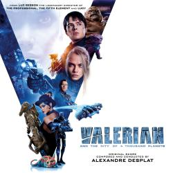 Valerian and the City of a Thousand Planets Original Motion Picture Soundtrack. Передняя обложка. Нажмите, чтобы увеличить.