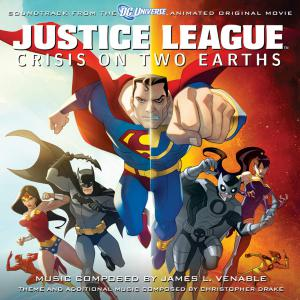 Justice League: Crisis On Two Earths Soundtrack from the Animated Original Movie. Лицевая сторона . Нажмите, чтобы увеличить.
