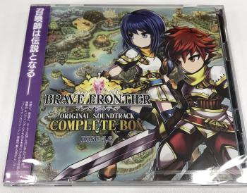 BRAVE FRONTIER ORIGINAL SOUNDTRACK COMPLETE BOX DISC 5,6. Case Front. Нажмите, чтобы увеличить.