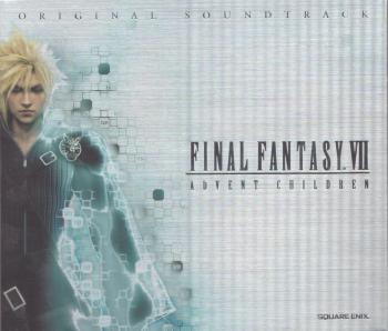 FINAL FANTASY VII ADVENT CHILDREN ORIGINAL SOUNDTRACK. Slipcase Front. Нажмите, чтобы увеличить.