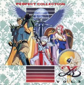 Perfect Collection Ys IV The Dawn of Ys Vol. 3. Booklet Front. �������, ����� ���������.