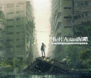 NieR: Automata Arranged & Unreleased Tracks. Front (display). Нажмите, чтобы увеличить.