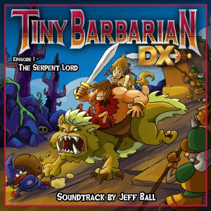 Tiny Barbarian DX: Episode 1 - The Serpent Lord. Front. Нажмите, чтобы увеличить.