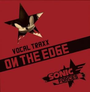 Sonic Forces Vocal Traxx - On The Edge. Slipcase Front. Нажмите, чтобы увеличить.