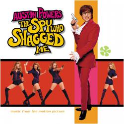 Austin Powers: The Spy Who Shagged Me Music from the Motion Picture. Передняя обложка. Нажмите, чтобы увеличить.