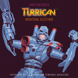 Turrican - Orchestral Selections Music Inspired by the Original Amiga Games feat. Norrkoping Symphony Orchestra. Передняя обложка. Нажмите, чтобы увеличить.