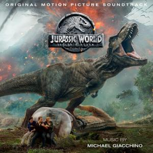 Jurassic World: Fallen Kingdom Original Motion Picture Soundtrack Deluxe Edition. Лицевая сторона . Нажмите, чтобы увеличить.