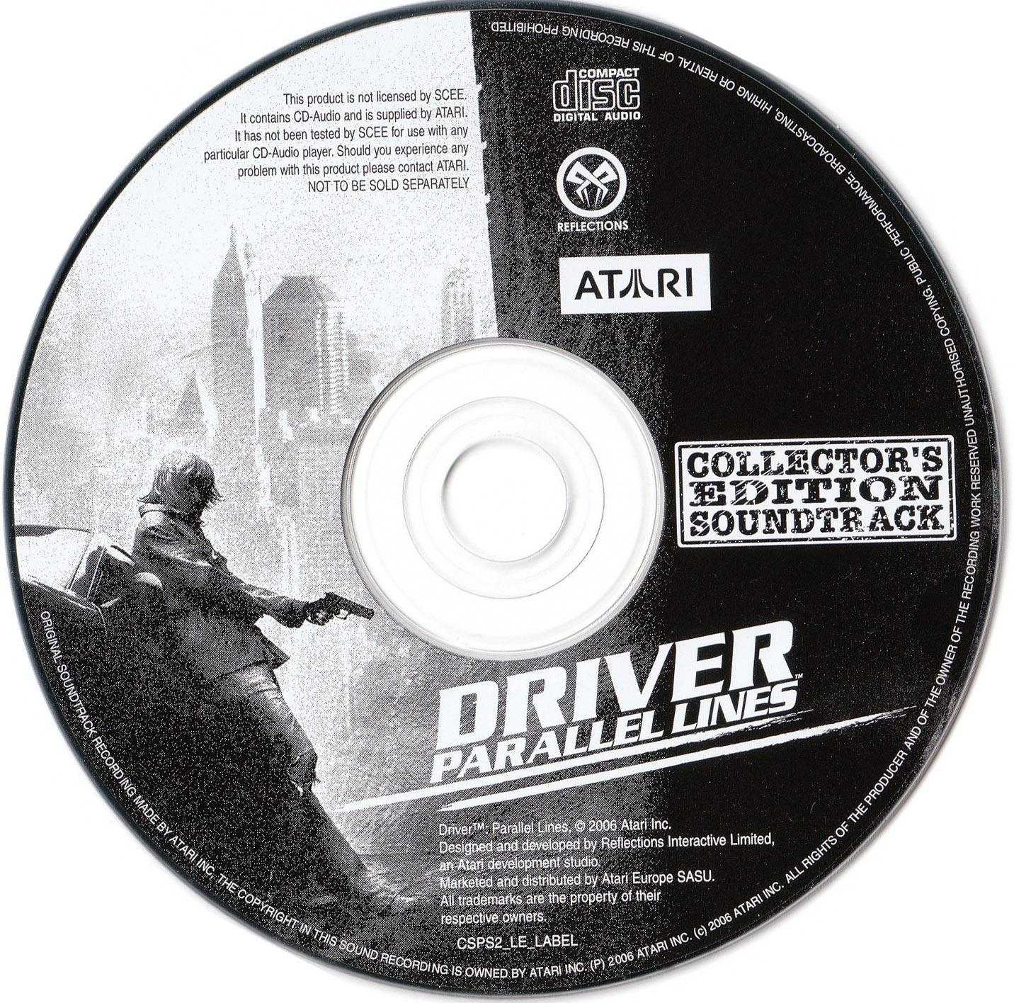 Driver Parallel Lines Soundtrack
