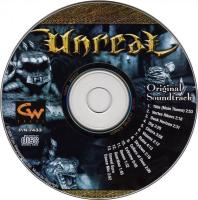 Unreal Original Soundtrack (strategy guide version). CD. Нажмите, чтобы увеличить.
