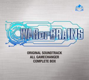 WAR OF BRAINS Original Soundtrack: ALL GAME CHANGER - COMPLETE BOX. Front. Нажмите, чтобы увеличить.