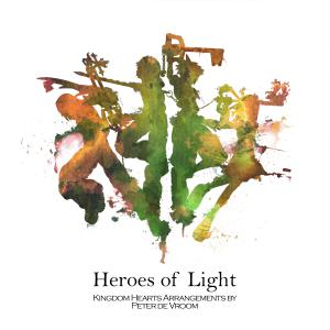 Heroes of Light: Kingdom Hearts Arrangements. Front. Нажмите, чтобы увеличить.
