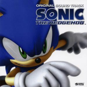 Sonic the Hedgehog Original Sound Track. Front (display). Нажмите, чтобы увеличить.