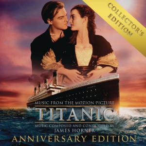 Titanic Music from the Motion Picture Collector's Anniversary Edition. Лицевая сторона . Нажмите, чтобы увеличить.