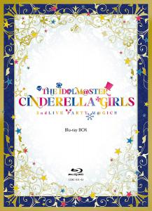 THE IDOLM@STER CINDERELLA GIRLS 2ndLIVE PARTY M@GIC!! Blu-ray BOX, The. Front. Нажмите, чтобы увеличить.