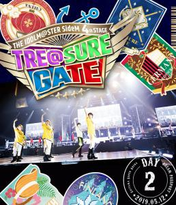 THE IDOLM@STER SideM 4th STAGE ~TRE@SURE GATE~ LIVE Blu-ray [DREAM PASSPORT], The. Front. Нажмите, чтобы увеличить.